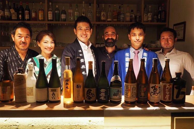 """Il distillato giapponese """"Shochu"""" in tavola al ristorante Galbi Roma"""