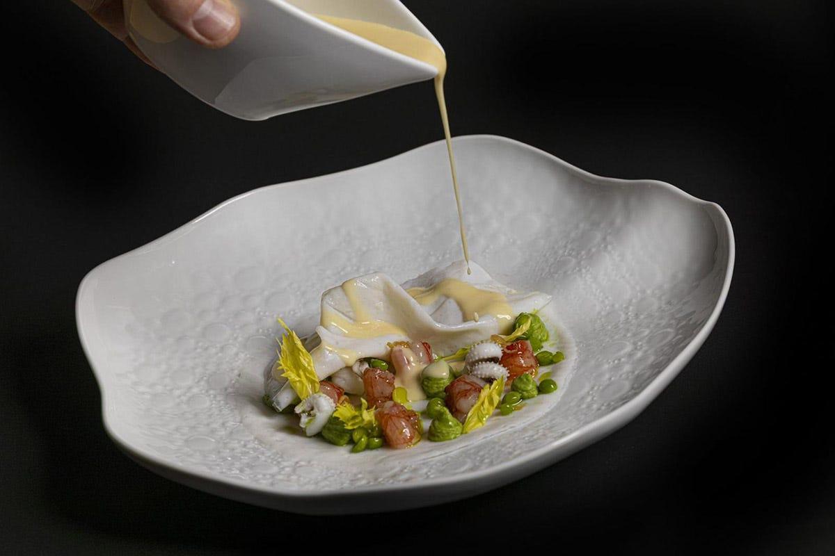 Gambero velato Atelier Domodossola Pesci di lago e di fiume nel menu di 42 ristoranti