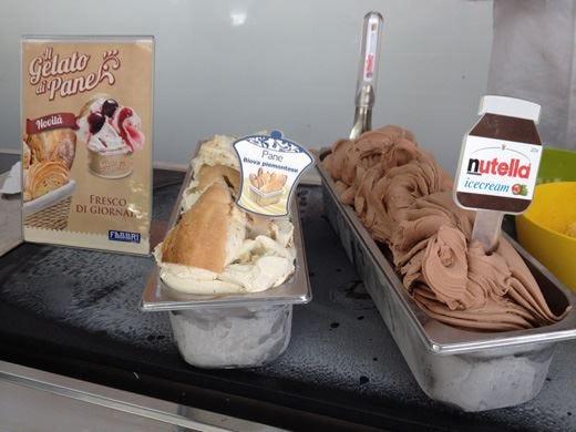 Biova piemontese e Nutella, gusti inediti alla tappa torinese del Gelato Festival