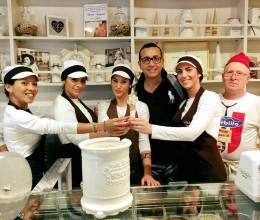 Gino Sorbillo e Casa Infante inventano il primo gelato al gusto pizza napoletana