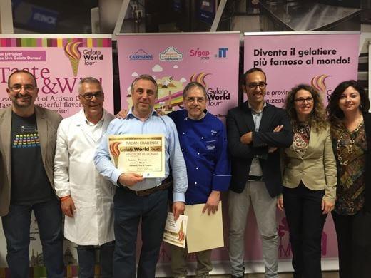 """Gelato World Tour, a Catania vincono """"Pistacchio Puro di Bronte"""" e """"Tropicale"""""""