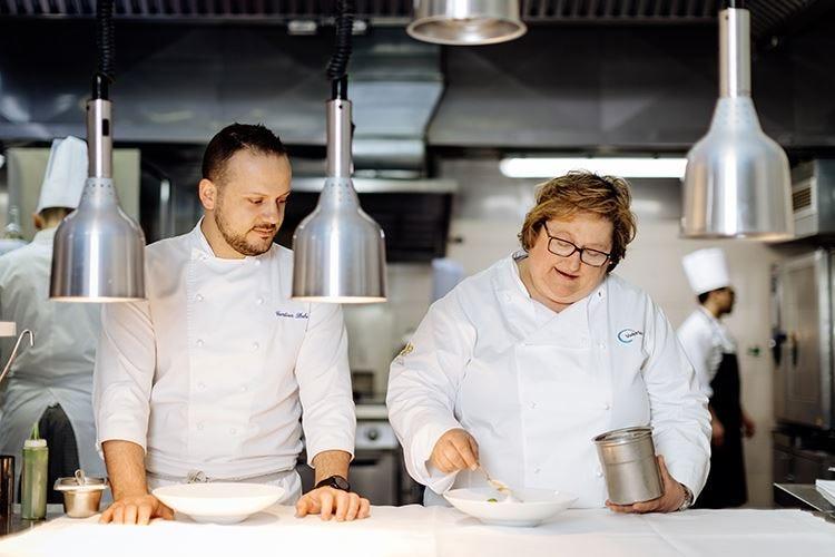 Gentian Shehi e Piccini consulenteAl Winter Garden è alta cucina