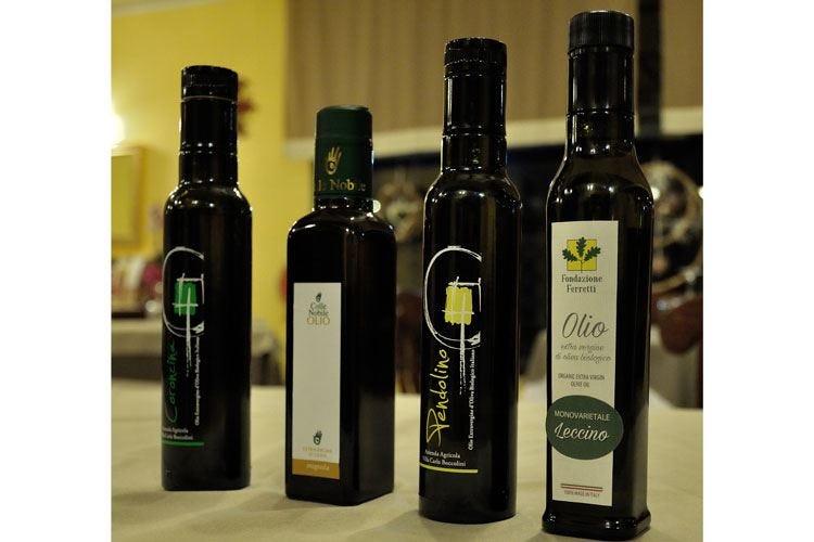 """Giorgio Panzini e l'olio marchigiano Degustazione """"guidata"""" con tre aziende"""