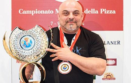 Il pugliese Giulio Scialpi è il Campione mondiale della pizza 2014