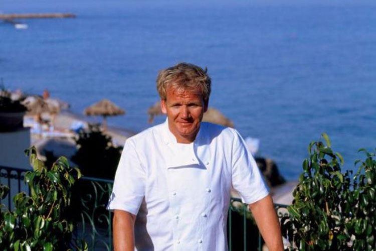 Gordon Ramsay al Forte Village Resort In cucina con Cracco, Mascia e Mancino