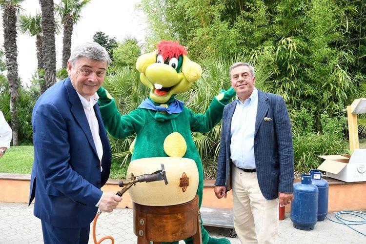 Grana Padano e Gardaland Un'intesa tra gusto e solidarietà