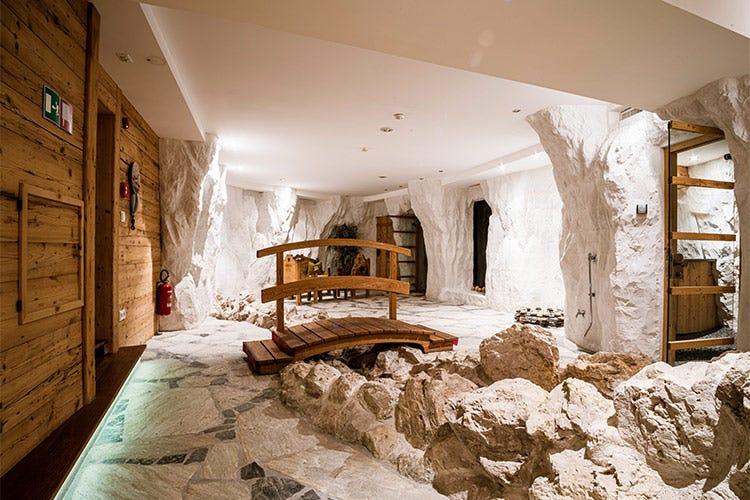 La spa, estesa su una superficie di 2mila mq - Nuovo look al Granbaita Dolomites Una vacanza sicura per rigenerarsi