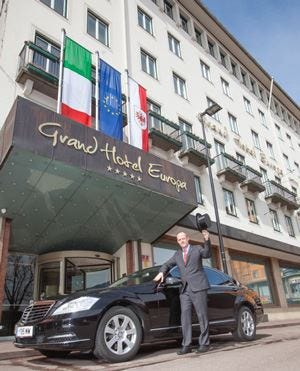 Grand Hotel Europa di Innsbruck 
