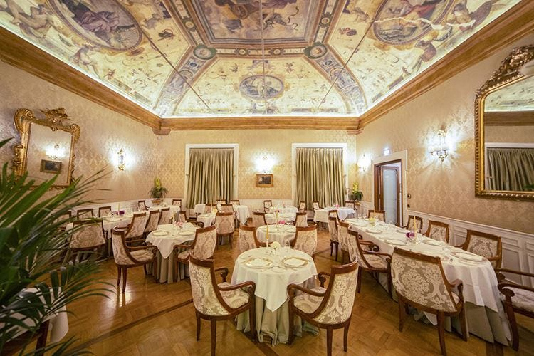 Grand Hotel Majestic Bollito e tartufi nel menu autunnale
