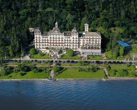 Grand Hotel des Iles Borromées a Stresa Un'autentica perla sul lago Maggiore