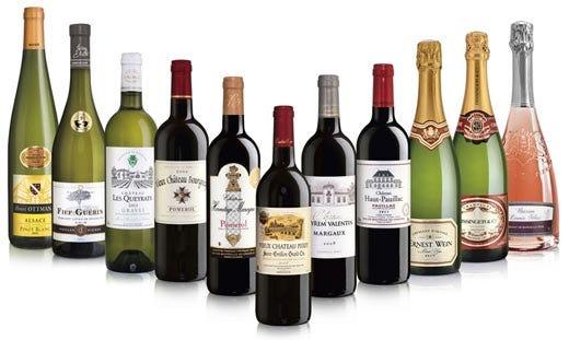 una rassegna di vini francesi da lidl prodotti eccellenti