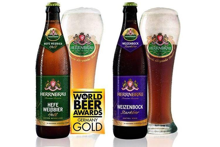 Herrnbräu, medaglia d'oro all'European Beer Star e World Beer Award