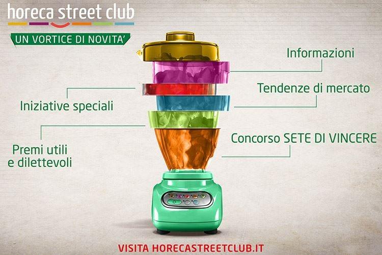Horeca Street Club di Partesa migliora la gestione del locale