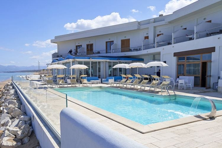 Hotel La Battigia ad Alcamo Marina Location unica nel paesaggio siciliano