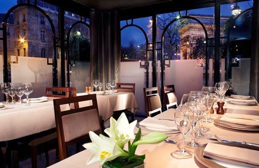 Hotel splendid nel cuore di parigi ambiente di lusso sotto l'arco ...