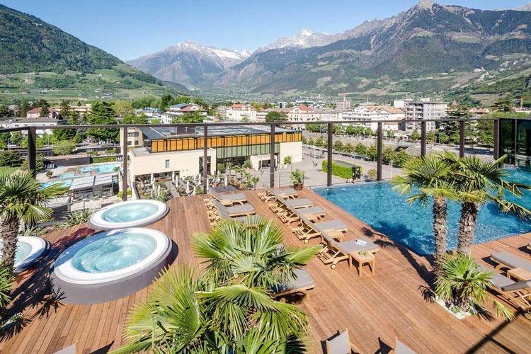 Hotel Terme Merano La suggestione della Sky Spa
