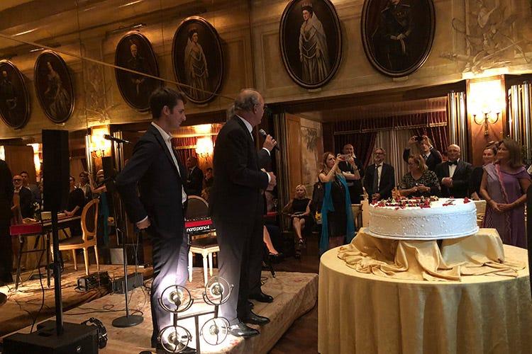Hotel de la ville festeggia il 60 e inaugura la cucina in veranda italia a tavola - Cucina in veranda ...