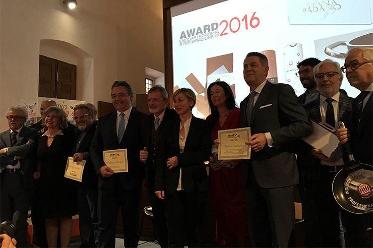 Iaccarino, Montano, Noschese, Marriott Gli Award 2016 di Italia a Tavola