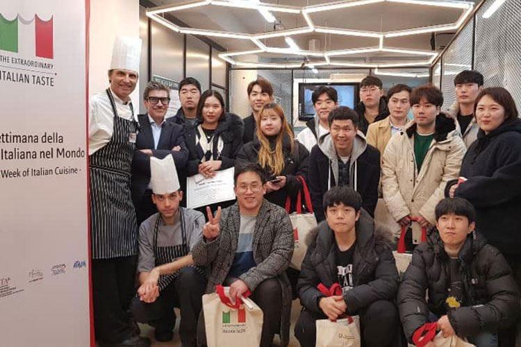 Ifse ambasciatrice in Corea della Cucina italiana