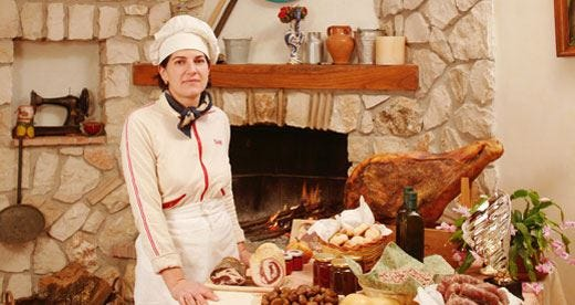 A Il Castagneto batte un cuore ciociaro Qui tutto è cucina, ristoro e natura
