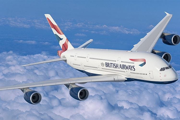Il San Valentino di British Airways 