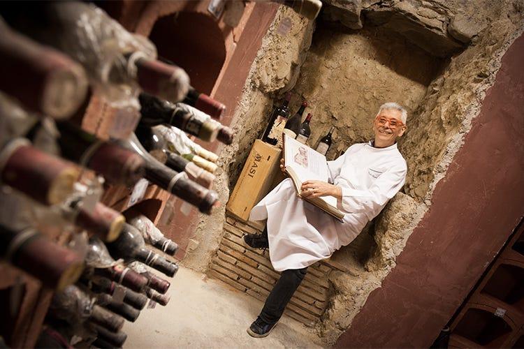 il cuoco e sommelier paolo teverini ambasciatore del vino per lemilia romagna