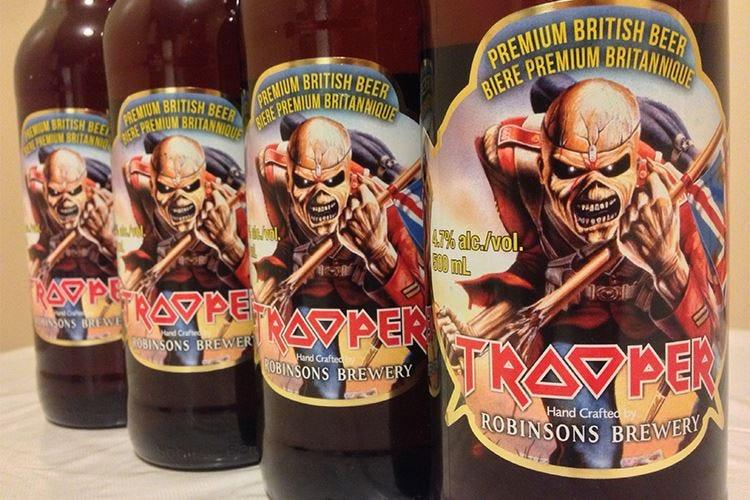 Golden Ale Trooper, una birra... rock per rivivere la musica degli Iron Maiden