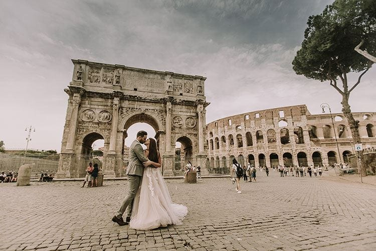 Gli sposini stranieri scelgono l'Italia Celebrati 9mila matrimoni nel 2019