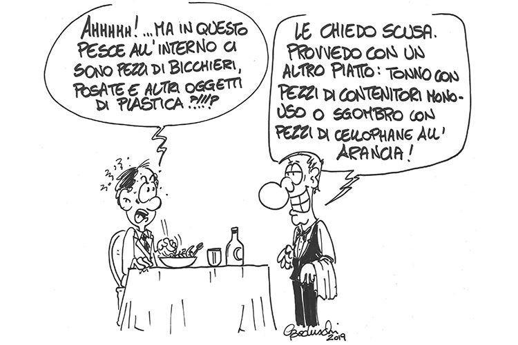 Italian sounding e plastica nei mari Euro-Toques dice basta