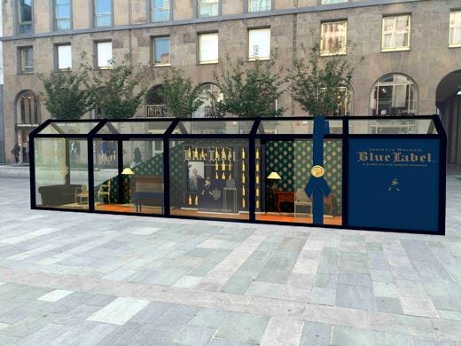 Johnnie Walker Blue Store a MilanoLa città fa spazio al celebre whisky