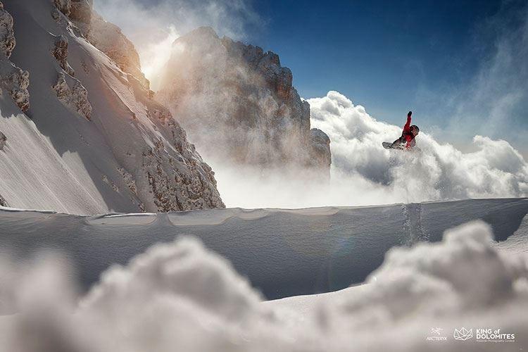 King of Dolomites Freeride e fotografia sulle Dolomiti