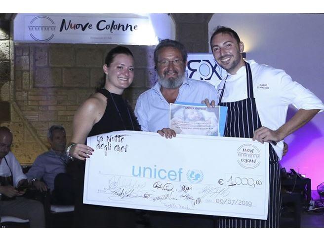La Notte degli Chef Mille euro per Unicef Italia
