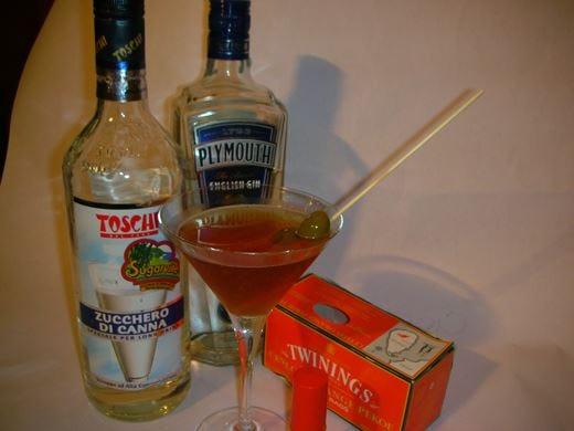 Orange Pekoe Martini