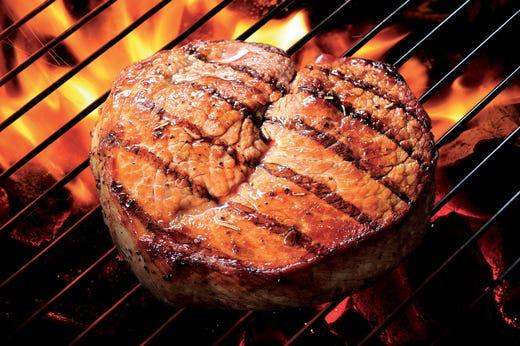 Как сделать гриль стейк