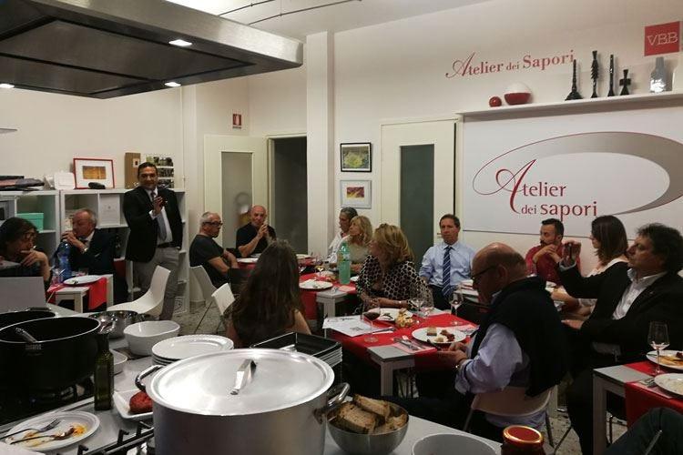 Lazio e Calabria ad Atelier dei Sapori Un successo la serata enogastronomica