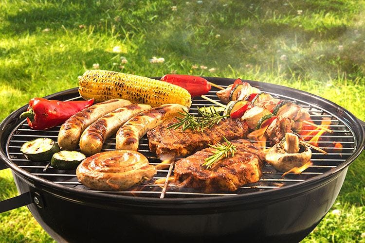 Le regole del barbecue con un occhio alla salute