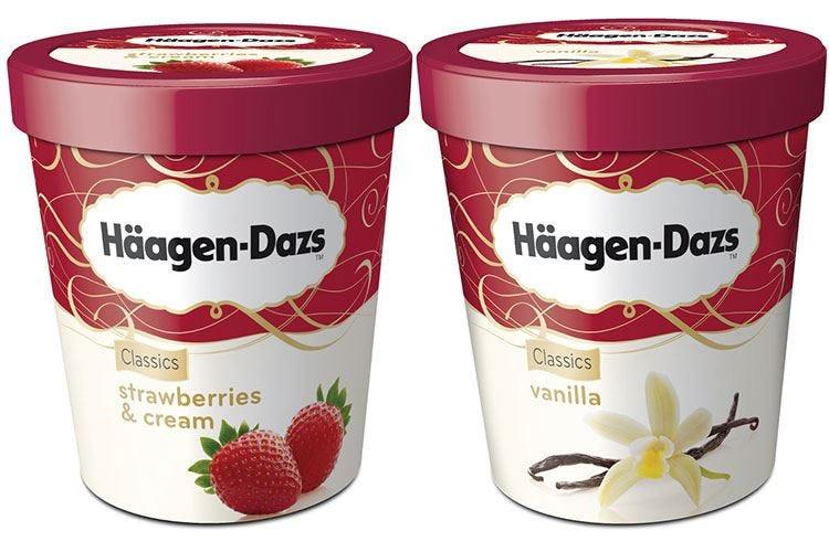 Le ricette di Häagen-Dazs per l'estate con la dolce creatività di Simone Rugiati