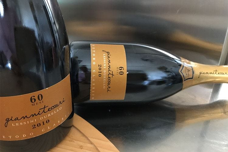 Lessini Durello Doc 60 mesi Un Grande vino per Slow Wine