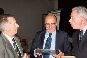 da sinistra: Mario Lombardi, Claudio Zeni e Giancarlo Colombo