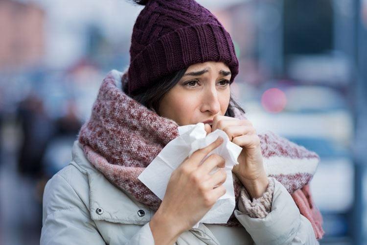 Sbalzi di temperatura pericoli per le vie aeree