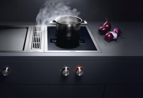 Centri di aspirazione serie 400 Gaggenau al servizio della cucina ...