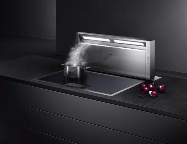 Centri di aspirazione serie 400 gaggenau al servizio della - Aspira odori cucina ...