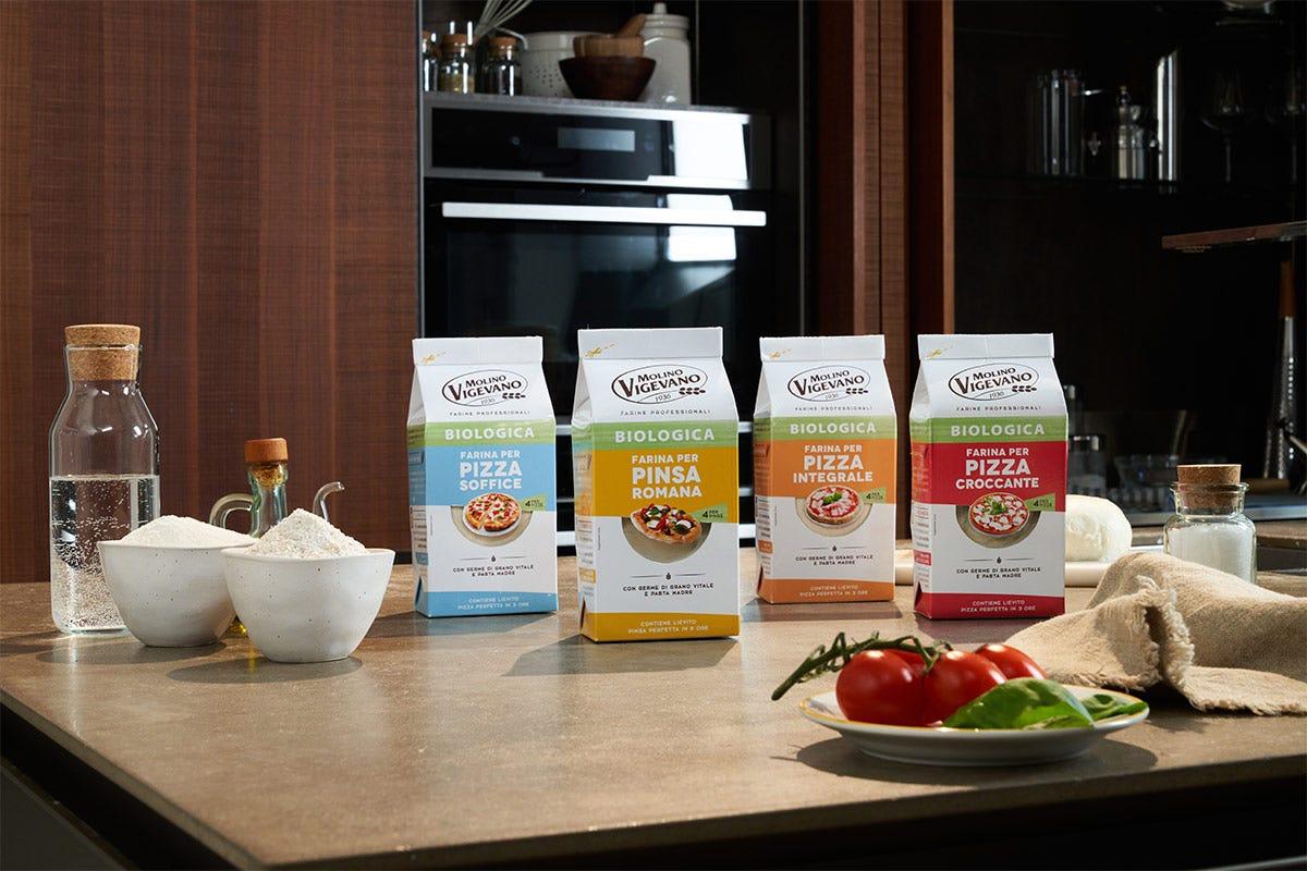 La gamma di farine Molino Vigevano protagonista della campagna Tendenze, Pizza fatta in casa Molino Vigevano ci crede