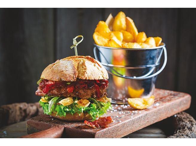 Maionese Develey in hamburgeria Vegetale al 100% e senza uova