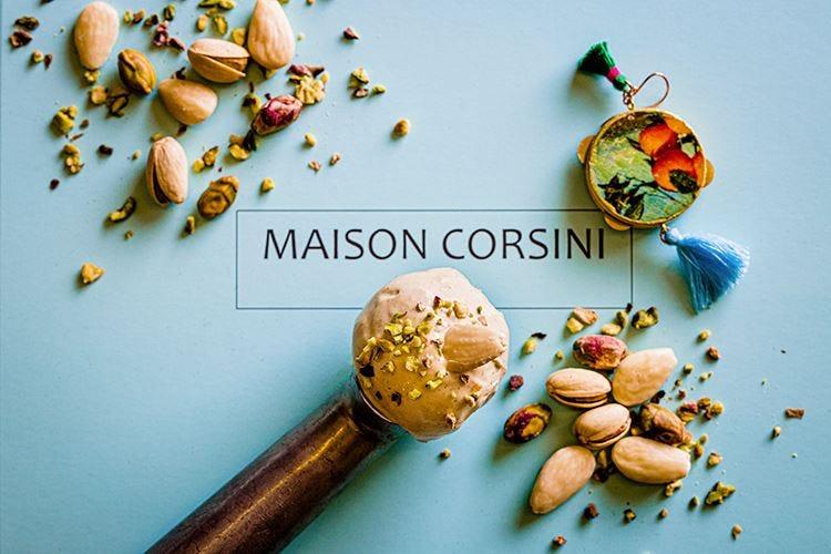 Gelati dal passato a Maison Corsini Da provare il gusto mandorla e fichi