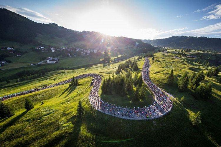 Maratona dles Dolomites A scuola di turismo sportivo