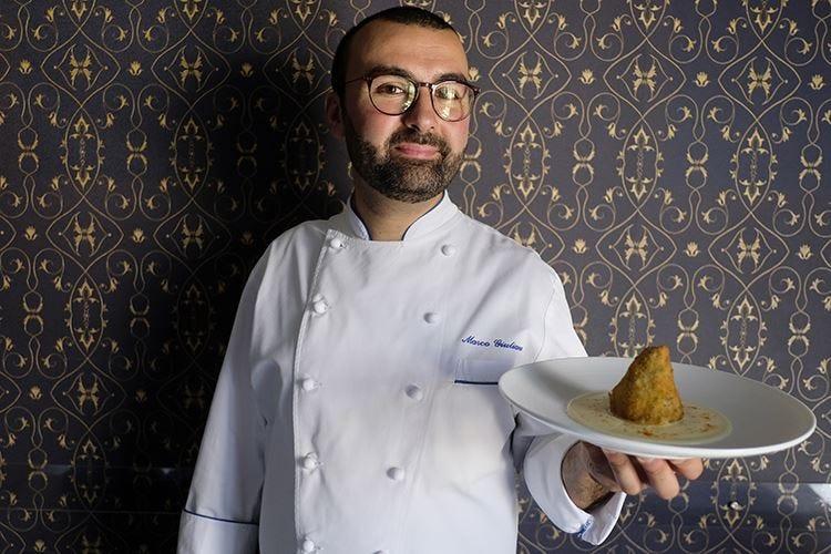 Una sera siciliana e conviviale con 6 cuochi Euro-Toques in cucina