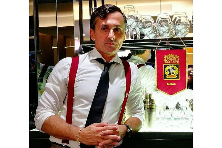 Marco Martino, materia prima e umiltà al banco di Casa Alitalia a Fiumicino