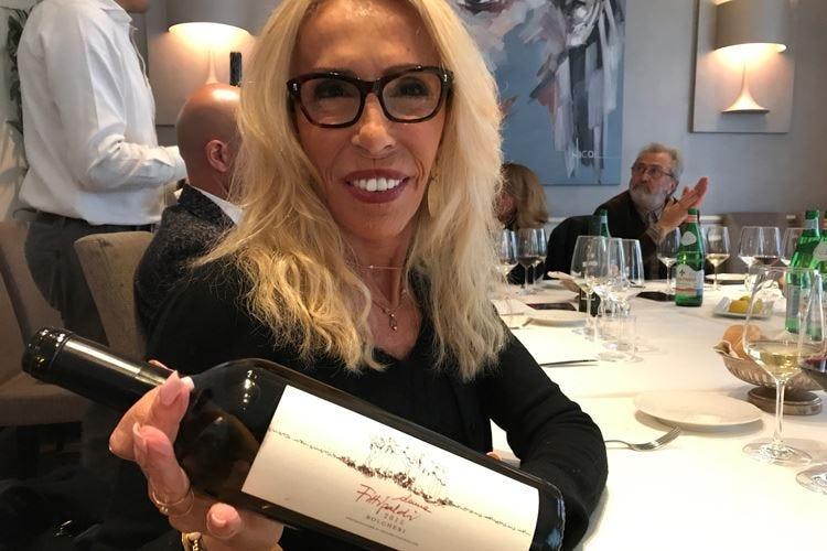 Maria Fittipaldi a Bolgheri Da astemia a donna del vino