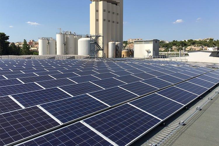 Birrificio heineken di massafra primo al mondo per il for Pannelli solari solar